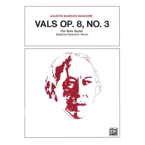 ALFRED PUBLISHING VALS OP 8, NO3 - GUITAR