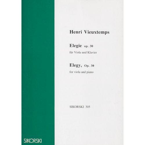 SIKORSKI VIEUXTEMPS HENRI - ELEGIE OP.30