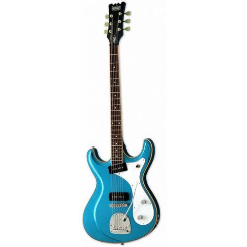 EASTWOOD SIDEJACK BARITONE DLX METALLIC BLUE