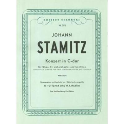 SIKORSKI STAMITZ J. - CONCERTO POUR HAUTBOIS EN DO MAJEUR - REDUCTION