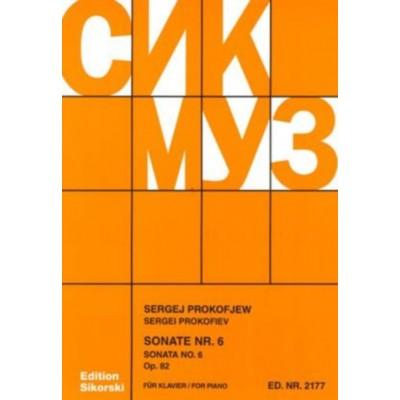 SIKORSKI PROKOFIEV S. - SONATE N° 6 OP.82 EN LA MAJ. - PIANO