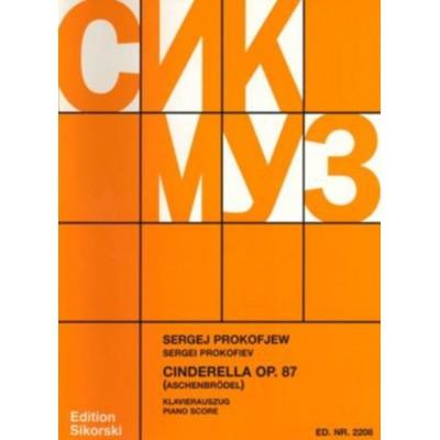 SIKORSKI PROKOFIEV SERGE - CINDIRELLA OP.87 - PIANO