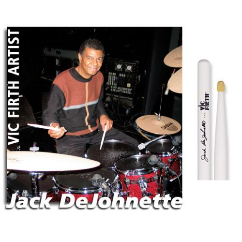 VIC FIRTH JACK DEJOHNETTE SIGNATURE