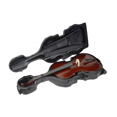 SKB 4/4 CELLO 4 / 4 ROTO-MOLDED SHELL WITH WHEELS