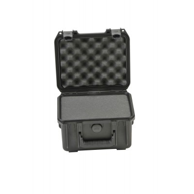 SKB 3I-0907-6B-C - UNIVERSAL WATERPROOF CASE 250 X 178 X 156 (125+30) MM WITH MINI-LATCH, CUBED FOAM