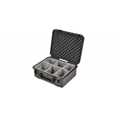 SKB 3I-1914N-8B-D - UNIVERSAL WATERPROOF CASE 483 X 368 X 203 (152+51) MM WITH WHEELS AND DIVIDERS