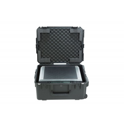 SKB 3I-2217-103U - ISERIES CASE WITH REMOVEABLE 3U RACK CAGE WITH WHEELS