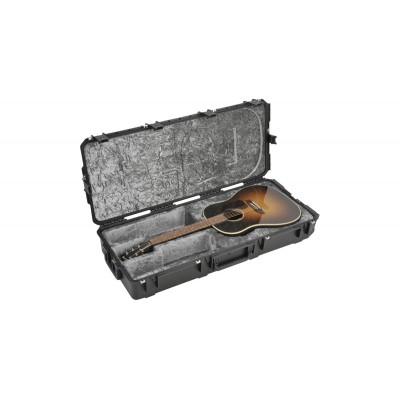SKB 3I-4217-18 SPRITZGUSS WASSERDICHTER AKUSTISCHE GITARRE FLUG-TRANSPORTKOFFER - TSA-VERSCHLSSE, MIT R
