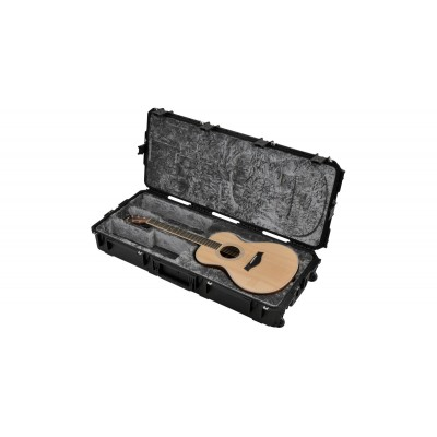 SKB 3I-4217-30 - INJECTION MOLDED WATERPROOF CLASSICAL GUITAR FLIGHT CASE - TSA LATCHES, WITH WHEELS