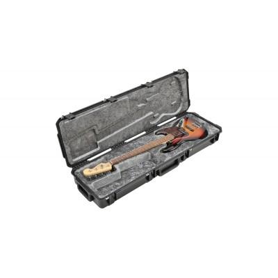 SKB 3I-5014-44 SPRITZGUSS WASSERDICHTER P/J STYLE ELEKTRISCHER BASS FLUG-TRANSPORTKOFFER - TSA-VERSCHLS