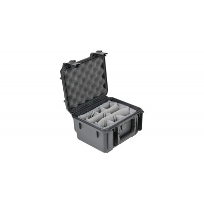 SKB 3I-0907-6B-D - UNIVERSAL WATERPROOF CASE 250 X 178 X 156 (125+30) MM WITH MINI-LATCH, DIVIDERS