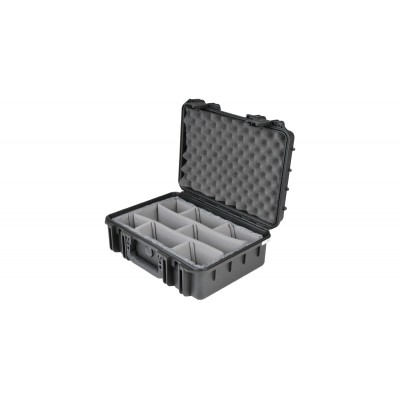 SKB 3I-1711-6B-D - UNIVERSAL WATERPROOF CASE 432 X 292 X 152 (108+44) MM WITH DIVIDERS