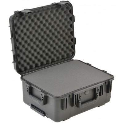 SKB 3I-1914-8B-L - UNIVERSAL WATERPROOF CASE 483 X 362 X 203 (153+50) MM WITH WHEELS AND LAYERED FOAM