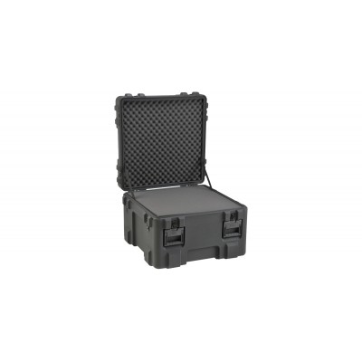 SKB 3R2727-18B-L - UNIVERSAL WATERPROOF ROTO-MOLDED CASE 685 X 685 X 457 (368+89) MM WITH LAYERED FOAM