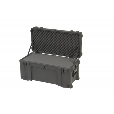 SKB 3R3214-15B-CW - UNIVERSAL WATERPROOF ROTO-MOLDED CASE 812 X 368 X 400 (318+83) MM WITH FOAM & WHE
