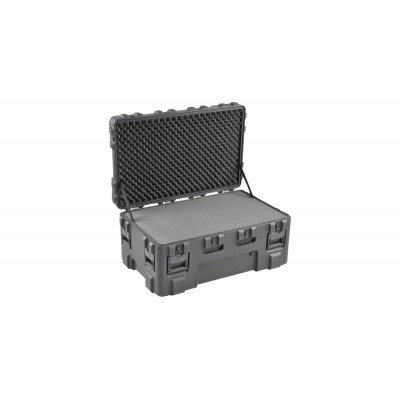 SKB 3R4024-18B-L - UNIVERSAL WATERPROOF ROTO-MOLDED CASE 1016 X 609 X 457 (368+89) MM WITH LAYERED FOA