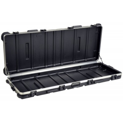 SKB INDUSTRIAL LOW PROFILE ATA CASE WITH WHEELS BLACK