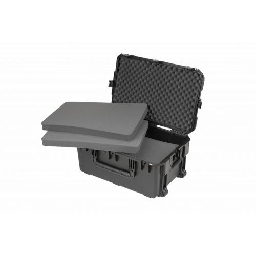 SKB 3I-2918-14B-C - UNIVERSAL WATERPROOF CASE 737 X 457 X 356 (292+64) MM CUBED FOAM WITH WHEELS AND P