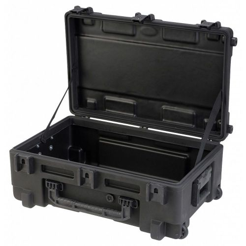 SKB 3R2817-10B-EW - UNIVERSAL WATERPROOF ROTO-MOLDED CASE 713 X 444 X 270 (219+51) MM EMPTY WITH WHEEL