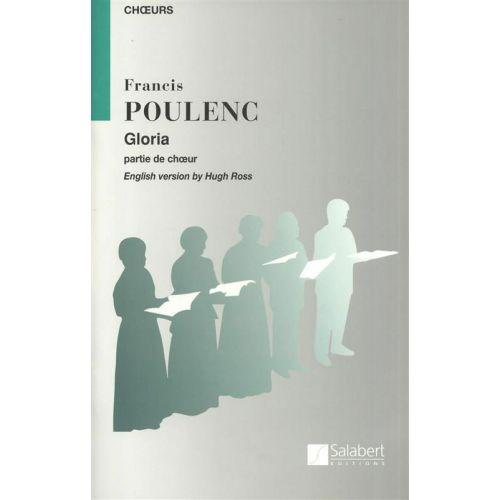 SALABERT POULENC F. - GLORIA - CHOEUR