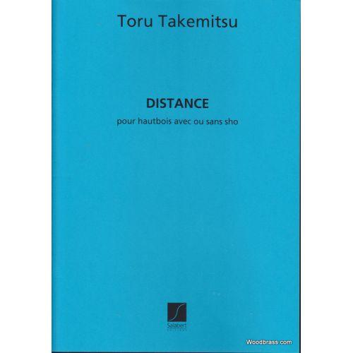 SALABERT TAKEMITSU T. - DISTANCE - HAUTBOIS