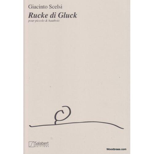 SALABERT SCELSI - RUCKE DI GUCK - FLUTE ET HAUTBOIS