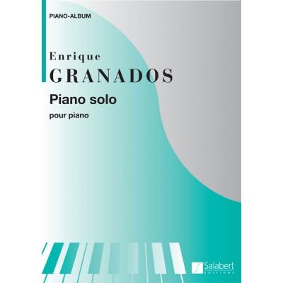 SALABERT GRANADOS E. - PIANO SOLO ALBUM