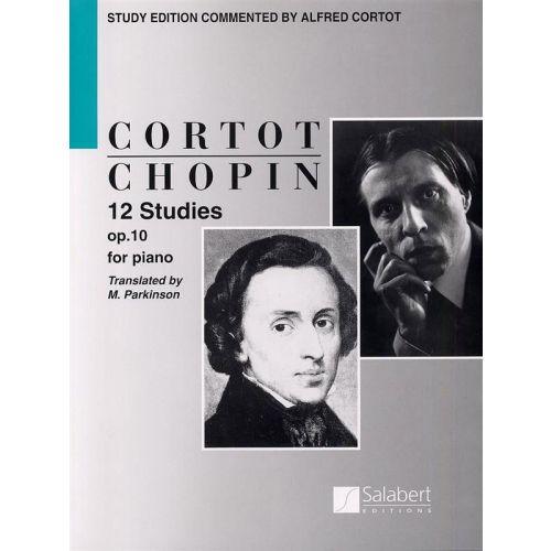 SALABERT CHOPIN F. - 12 STUDIES OP 10 - PIANO