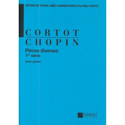 SALABERT CHOPIN F. - PIECES DIVERSES OP 49 60 57 43 1RE SERIE - PIANO