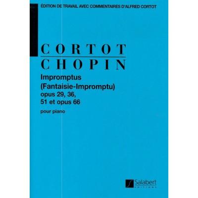 SALABERT CHOPIN F. - IMPROMPTUS - PIANO