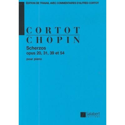 SALABERT CHOPIN F. - SCHERZOS - PIANO