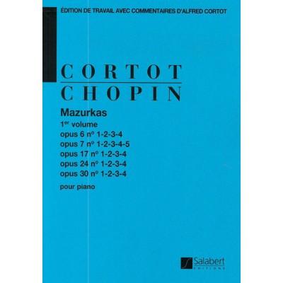 SALABERT CHOPIN F. - MAZURKAS VOL.1 OP.6-7-17-24-30 - PIANO