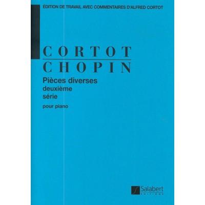 SALABERT CHOPIN F. - PIECES DIVERSES VOL.2 OP.46-19-45-12 - PIANO
