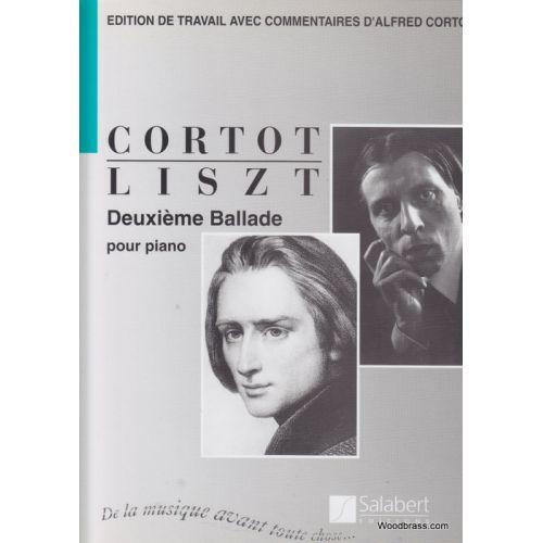 SALABERT LISZT F. - BALLADE N°2 (CORTOT) - PIANO