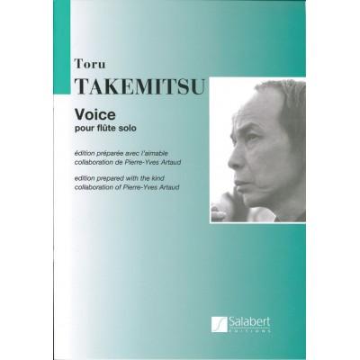 SALABERT TAKEMITSU T. - VOICE - FLUTE SOLO