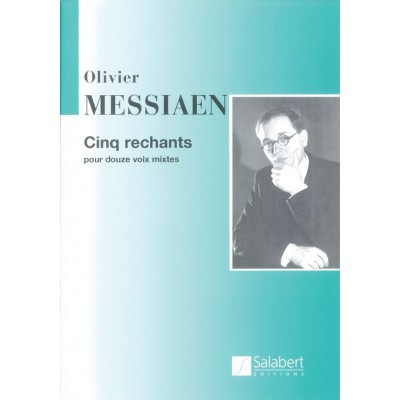 SALABERT MESSIAEN O. - 5 RECHANTS - CHOEUR