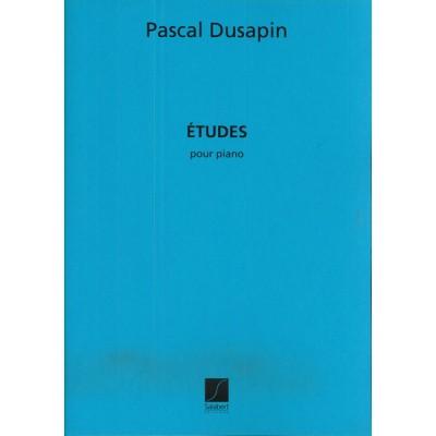 SALABERT DUSAPIN P. - ETUDES - PIANO