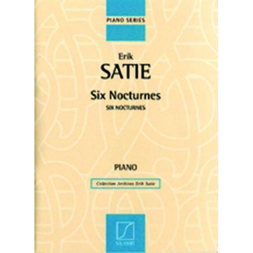 SALABERT SATIE E. - SIX NOCTURNES - PIANO