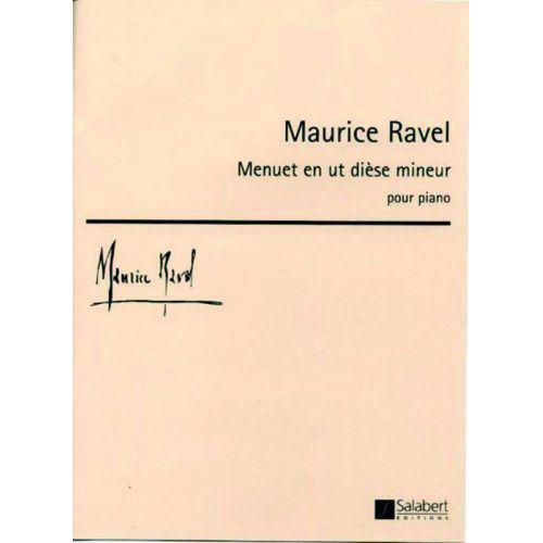 SALABERT RAVEL M. - MENUET EN UT DIESE MINEUR - PIANO
