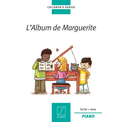 SALABERT ALBUM DE MARGUERITE - PIANO FACILE