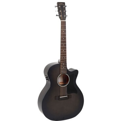 SIGMA ST SERIES GMC-STE-BKB GRAND OM BLACK SATIN