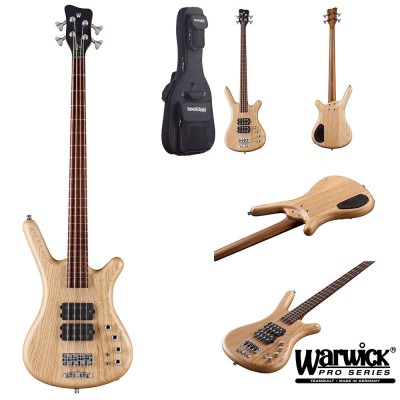 WARWICK BASS GERMAN PRO SERIES CORVETTE DB 4 NATURAL SATIN