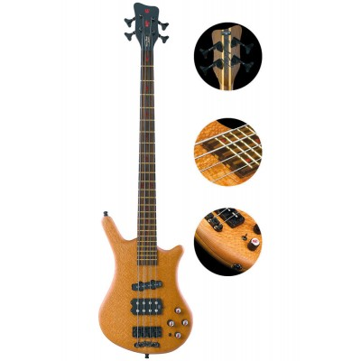 WARWICK BASS CUSTOM SHOP LIMITED EDITION THUMB 2007 FLAMIN BLONDE
