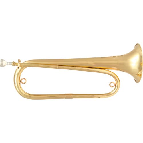 SML BUGLE SIB - VERNISHED BRASS