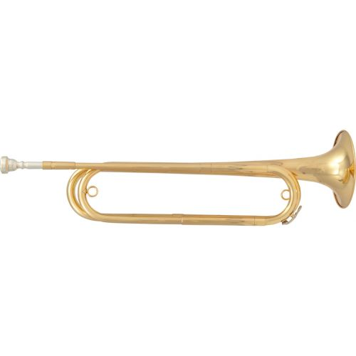 SML CAVALRY TRUMPET MIB - VERNISHED BRASS - COVER