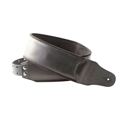 RIGHTON GUITAR STRAP SMOOTH BLACK