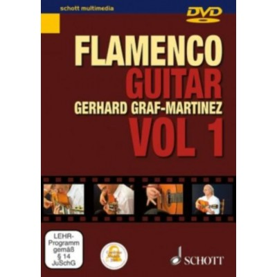 SCHOTT GRAF-MARTINEZ GERHARD - DVD FLAMENCO GUITAR METHOD VOL. 1