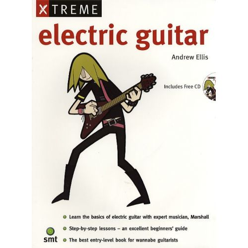 MUSIC SALES XTREME ELECTRIC GUITAR + CD - GUITAR