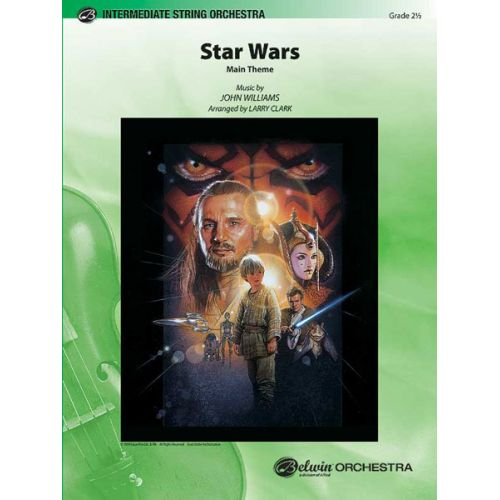 ALFRED PUBLISHING WILLIAMS JOHN - STAR WARS MAIN THEME - STRING ORCHESTRA
