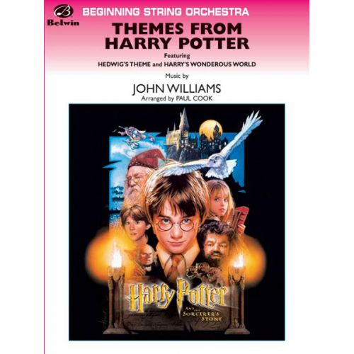 ALFRED PUBLISHING WILLIAMS JOHN - THEMES FROM HARRY POTTER - STRING ORCHESTRA